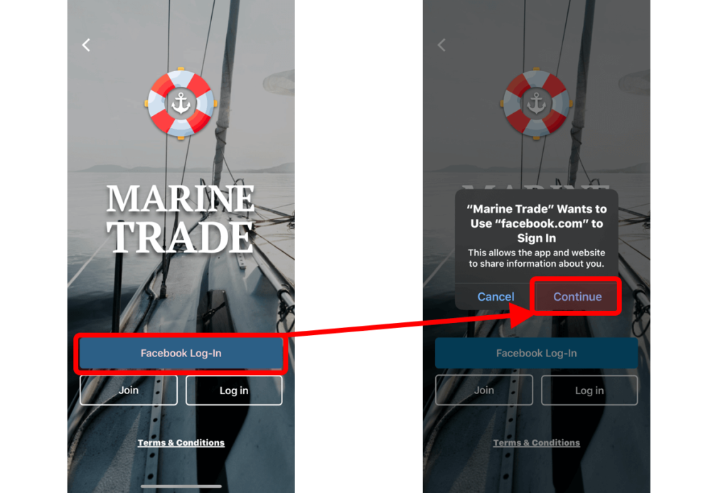 Marine Trade Face Book Register